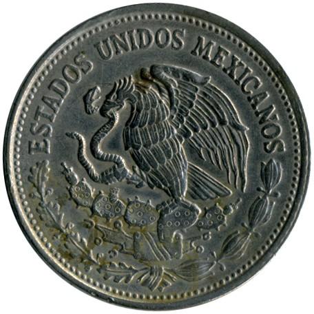 Coin 500 Pesos 1986 1992 Mexico Obverse
