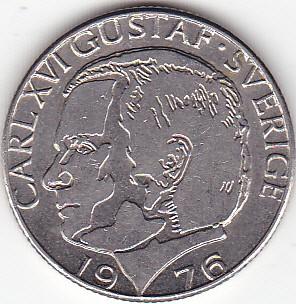 Монета carl xvi gustaf sverige 1981 цена альбом монетник
