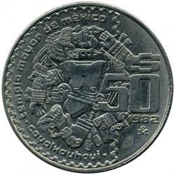 Munt > 50pesos, 1982-1984 - Mexico  - reverse