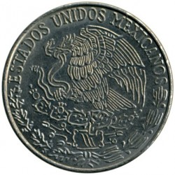 Munt > 50centavos, 1970-1983 - Mexico  - reverse
