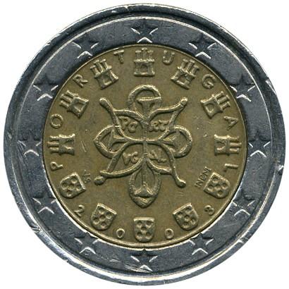 2 Euro 2002 2007 Portugal Münzen Wert Ucoinnet