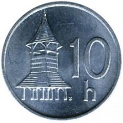 Νόμισμα > 10Χαλιεροφ, 1993-2003 - Σλοβακία  - reverse
