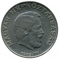 Coin > 5 forint, 1971-1982 - Hungary  - reverse