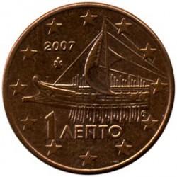 Moneta > 1eurocent, 2002-2018 - Grecja  - obverse