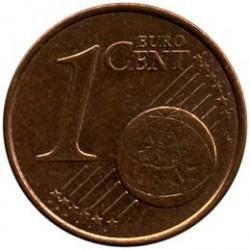 Moneta > 1eurocent, 2002-2018 - Grecja  - reverse