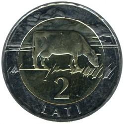 Монета > 2лата, 1999-2009 - Латвия  - reverse