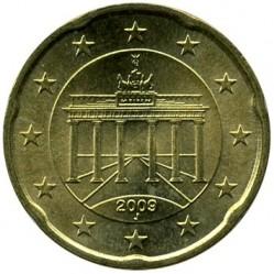 Moneta > 20centų, 2007-2017 - Vokietija  - obverse