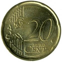 Moneta > 20centų, 2007-2017 - Vokietija  - reverse
