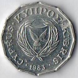 מטבע > ½סנט, 1983 - קפריסין  - obverse