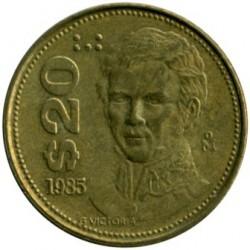 Munt > 20pesos, 1985-1990 - Mexico  - reverse