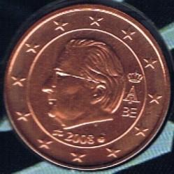 Monēta > 5eurocent, 2008 - Beļģija  - obverse
