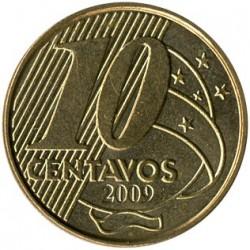 Monedă > 10centavo, 1998-2018 - Brazilia  - reverse