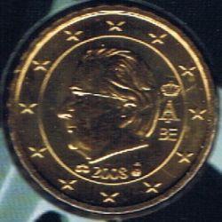 Moneta > 10centesimidieuro, 2008 - Belgio  - obverse