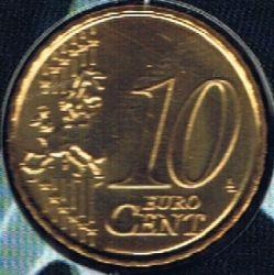 Moneta > 10centesimidieuro, 2008 - Belgio  - reverse