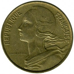 Coin > 10 centimes, 1964 - France  - reverse