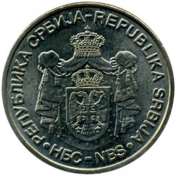 Pièce > 20dinars, 2006 - Serbie  (150th Anniversary - Birth of Nikola Tesla) - reverse