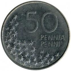 Monēta > 50peniju, 1990-2001 - Somija  - reverse
