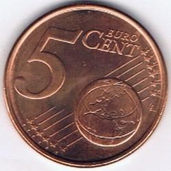 Монета > 5центов, 2006 - Люксембург  - reverse