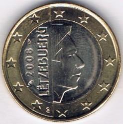 Монета > 1евро, 2007-2019 - Люксембург  - obverse