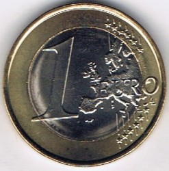 Монета > 1евро, 2007-2019 - Люксембург  - reverse