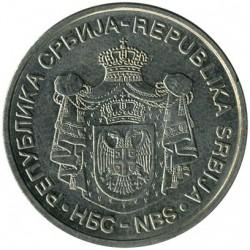 Munt > 10dinara, 2005-2010 - Servië  - obverse