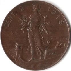 Moneta > 2centesimi, 1908-1917 - Włochy  - reverse