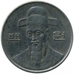 Moneta > 100vonų, 1988 - Pietų Korėja  - obverse