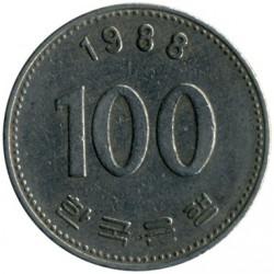 Moneta > 100vonų, 1988 - Pietų Korėja  - reverse