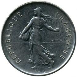 Minca > 5francs, 1970-2001 - Francúzsko  - obverse