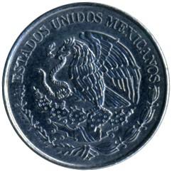 Coin > 20centavos, 2009-2017 - Mexico  - obverse