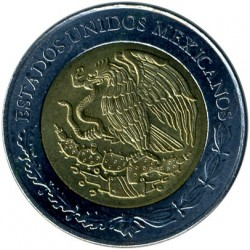 Coin > 5 pesos, 2010 - Mexico  (Centenary of Revolution - La Soldadera) - reverse