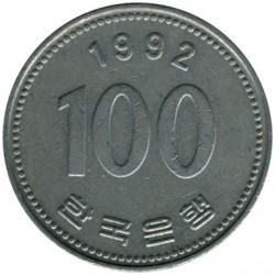 Moneta > 100vonų, 1992 - Pietų Korėja  - reverse