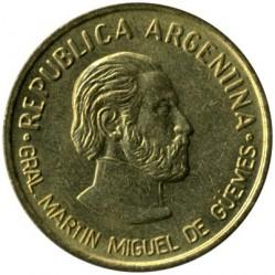 Moneda > 50centavos, 2000 - Argentina  (180º Aniversario - Muerte de Martín Miguel de Güemes) - obverse