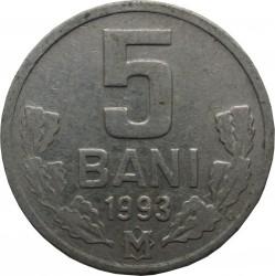 Moneda > 5bani, 1993-2018 - Moldavia  - reverse