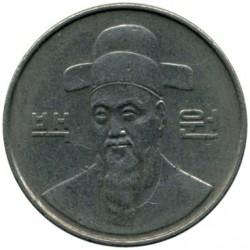 Moneta > 100vonų, 1987 - Pietų Korėja  - obverse