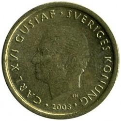 Монета > 10крони, 2001-2009 - Швеция  - obverse