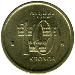 Монета > 10крони, 2001-2009 - Швеция  - reverse