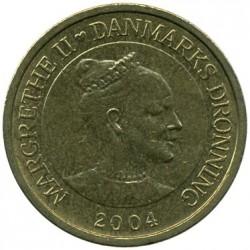 Монета > 10крон, 2004-2010 - Данія  - obverse