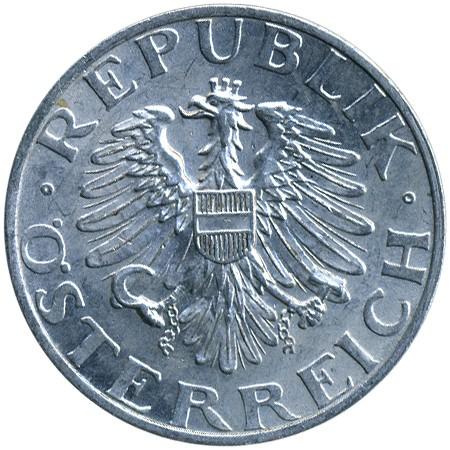 2 Schilling 1946 1952 österreich Münzen Wert Ucoinnet