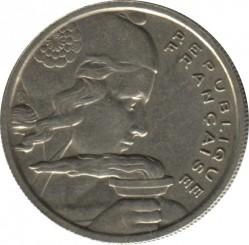 Monēta > 100franku, 1954-1958 - Francija  - obverse