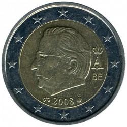 Moneta > 2euro, 2008 - Belgio  - obverse