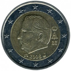 Moneta > 2euro, 2008 - Belgio  - reverse