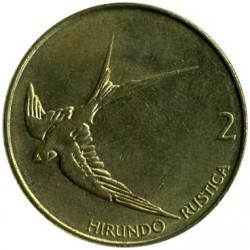 Moneda > 2tolarja, 1992-2006 - Eslovènia  - reverse
