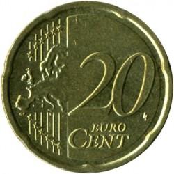 Minca > 20eurocentov, 2007-2019 - Grécko  - reverse
