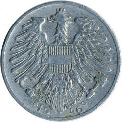 Монета > 1шилінг, 1946-1957 - Австрія  - reverse
