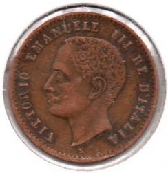 Moneta > 2čentezimai, 1903-1908 - Italija  - obverse