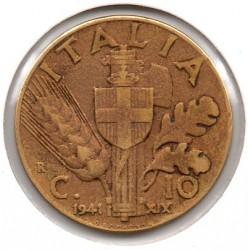 العملة > 10سنتيسيمي, 1939-1943 - إيطاليا  - reverse