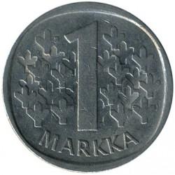 Монета > 1марка, 1969-1993 - Финляндия  - obverse