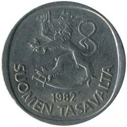 Монета > 1марка, 1969-1993 - Финляндия  - reverse