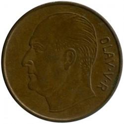 Mynt > 5ore, 1960 - Norge  - obverse